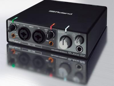 Новые звуковые интерфейсы Roland серии RUBIX