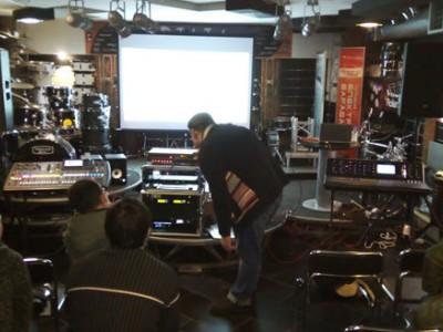 Отчет о семинаре по цифровым пультам Midas М32 и Behringer X32.