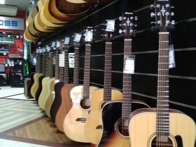 Приход товара в гитарный отдел