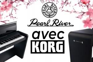 Нові цифрові фортепіано від Pearl River avec KORG вже у Тік-Так!