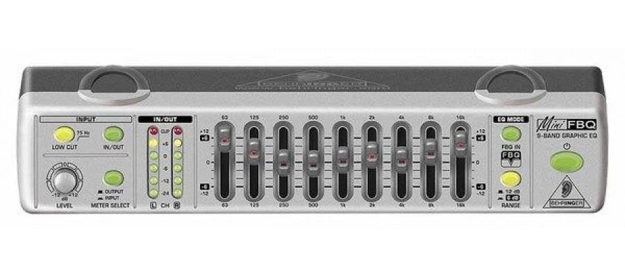 Эквалайзер графический BEHRINGER FBQ800