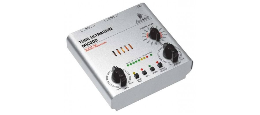 Микрофонный предусилитель Behringer Tube Ultragain MIC200