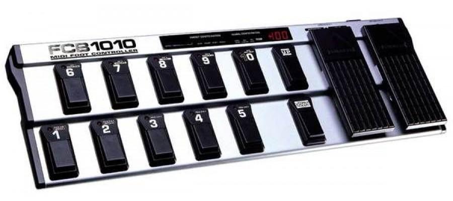 Гитарный Midi контроллер BEHRINGER MIDI FOOT CONTROLLER FCB1010