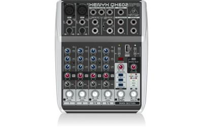 Микшерный пульт BEHRINGER XENYX QX602 MP3