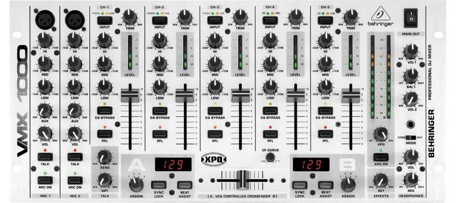 DJ-микшер BEHRINGER PRO MIXER VMX1000