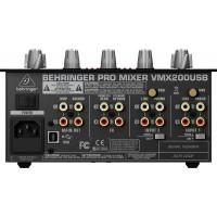 DJ-микшер BEHRINGER PRO MIXER VMX200USB