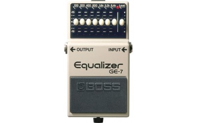 Педаль для гитар Boss GE-7 Graphic Equalizer