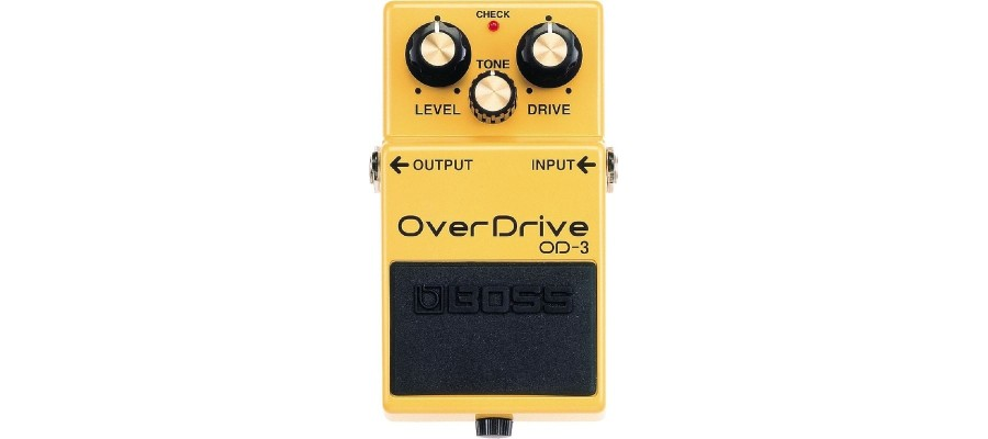 Педаль для гитар Boss OD-3 Overdrive