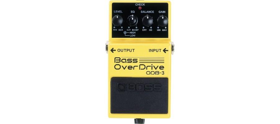 Педаль басовый овердрайв  BOSS ODB-3