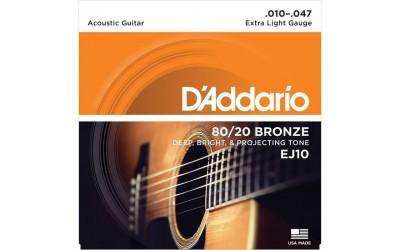Струны D'Addario EJ10