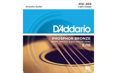 Струни D'Addario Phosphor Bronze EG16