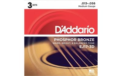 Струни D'Addario Phosphor Bronze EG17