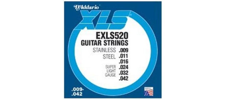 Cтруны для электрогитары D'Addario EXLS520
