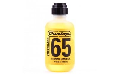 Лимонное масло DUNLOP 6554 FORMULA 65 FRETBOARD ULTIMATE LEMON OIL 4OZ