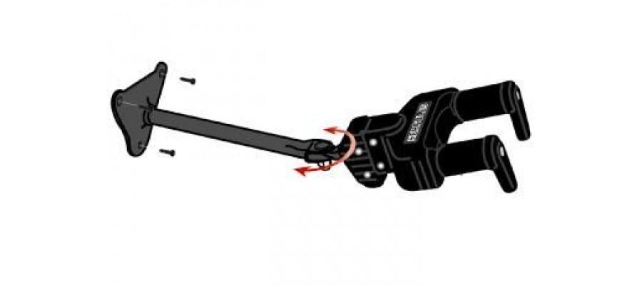 Крючок для гитар HERCULES GSP40WB