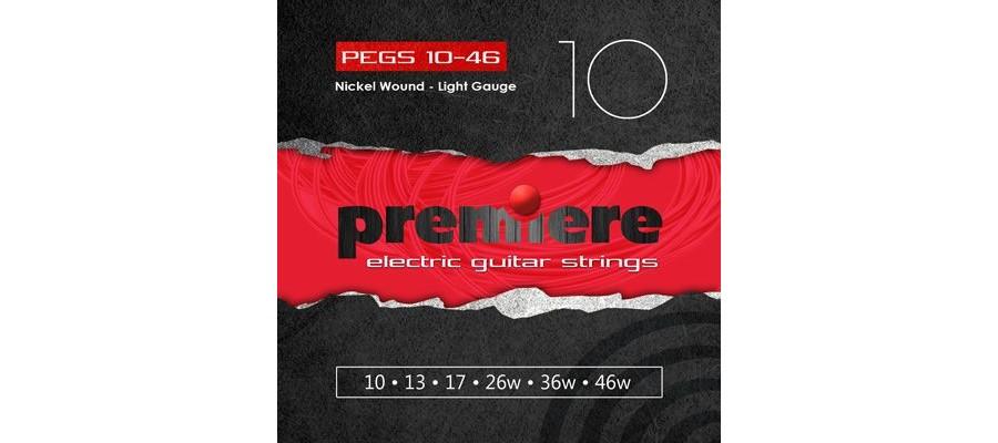 Струны PREMIERE STRINGS PEGS10-49