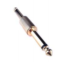 Переходник PROEL AT260G (моноджек штекер) профессиональный, с позолоченными контактами, 6.3 мм