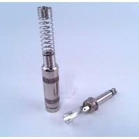 Штекер PROEL S230 (моноджек) профессиональный, никелированный