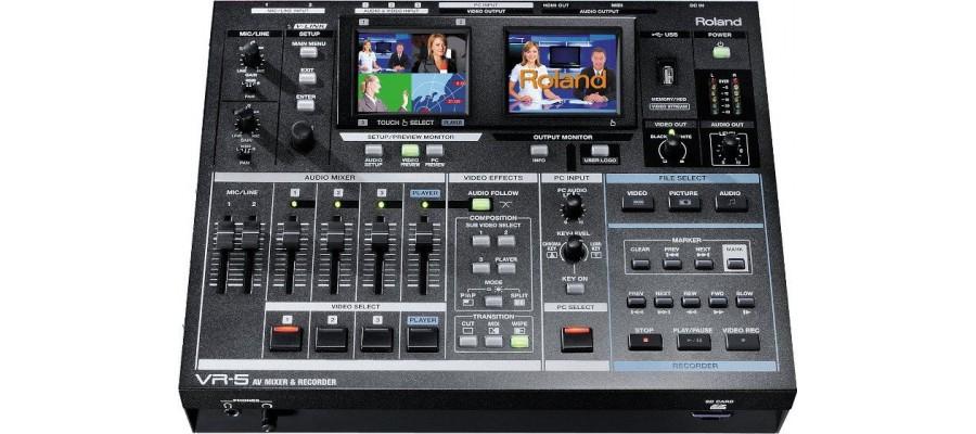 Видео - аудио микшер ROLAND VR-5
