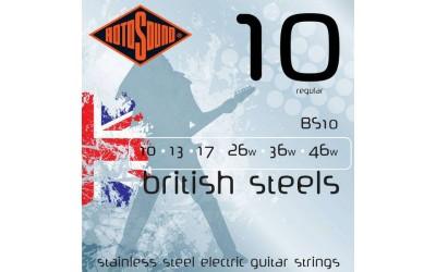ROTOSOUND BS10 - струны для электрогитары серии BS обычные (regular)