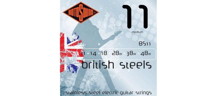 ROTOSOUND BS11 - струны для электрогитары серии BS средние (medium)