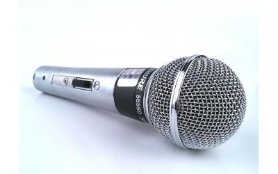 Вокальный микрофон SHURE 565SD-LC динамический с выключателем