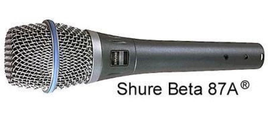 Микрофон SHURE BETA87A
