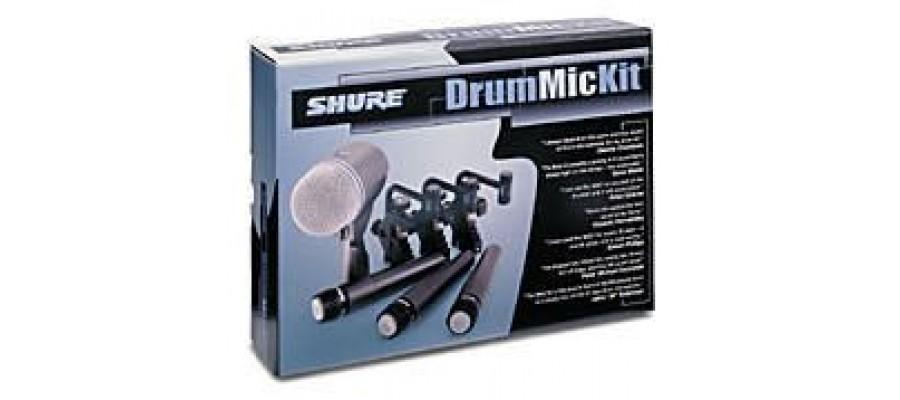 Комплект микрофонов SHURE DMK52-57