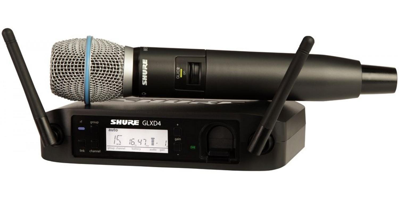 Цифровая радиосистема SHURE GLXD24 B87A купить в Киеве GLXD24EB87A с ... 96d62adaca32d