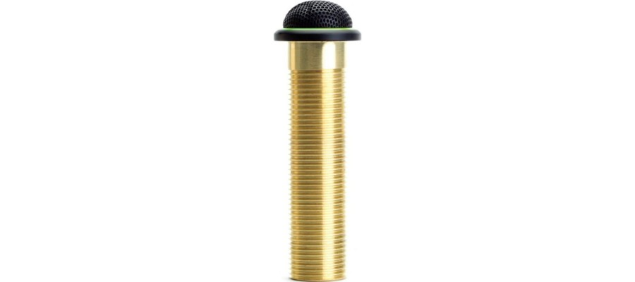Микрофон врезной SHURE MX395BBILED